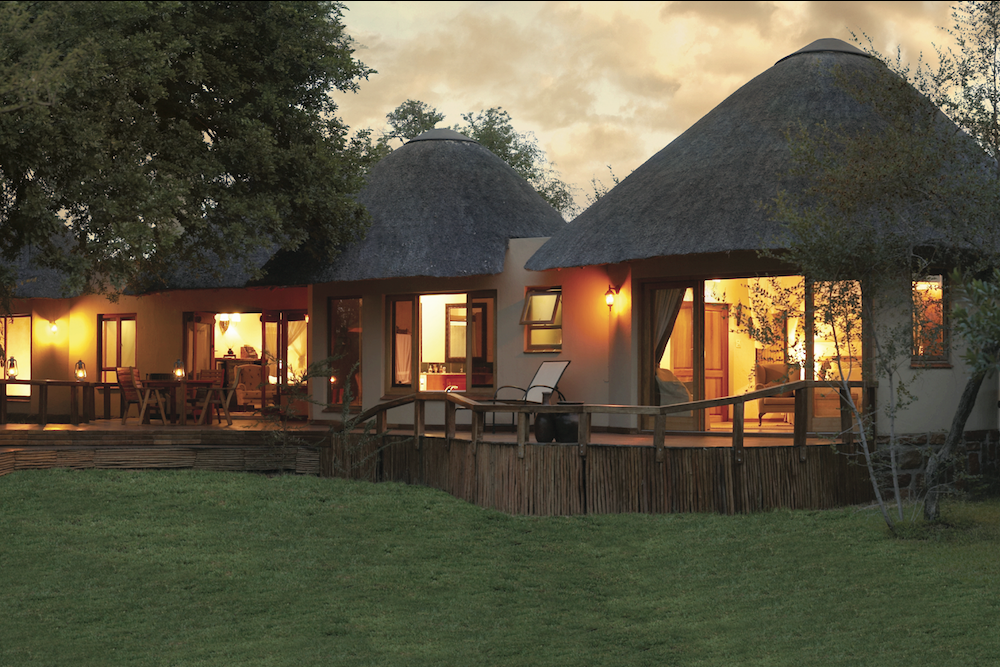 Luxe safari camp rondavels Krugerpark