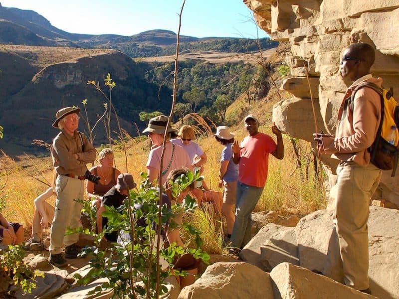 Wandel Safari In De Drakensbergen Zuid Afrika
