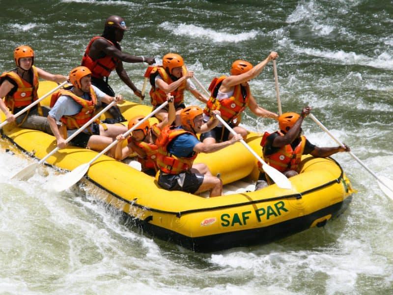 Wild Water Rafting Victoria Falls