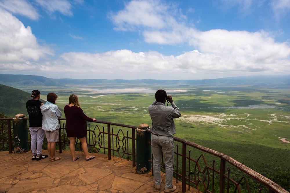 Reizen Naar Tanzania Om De Imposante Ngorongoro Krater Te Bezichtigen