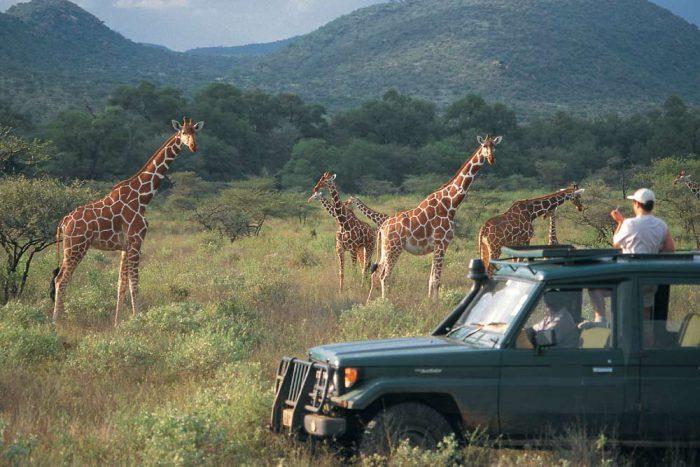 13 daagse East Africa Trails Lodge en Tented Camp groepssafari reis
