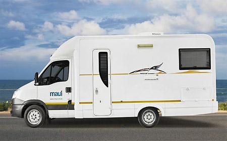 Huur De Maui M4Bi Luxe Camper Voor Max 4 Personen Bij AfrikaOnline.nl