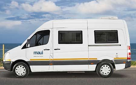 Huur De Maui 2 Persoons Mercedes Sprinter M2B Bij AfrikaOnline.nl