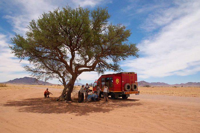 15 daagse Cape to Namibia Desert Tour kampeer groepsafari