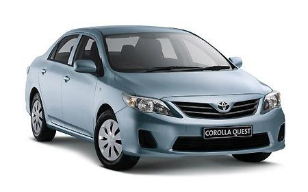 Huur De Toyota Corolla Met All-inclusief Verzekering Bij AfrikaOnline.nl