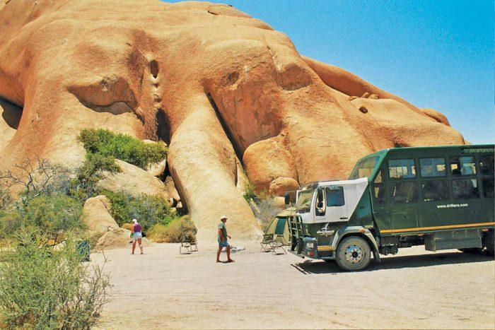 Namibia camping tour Spitskoppe