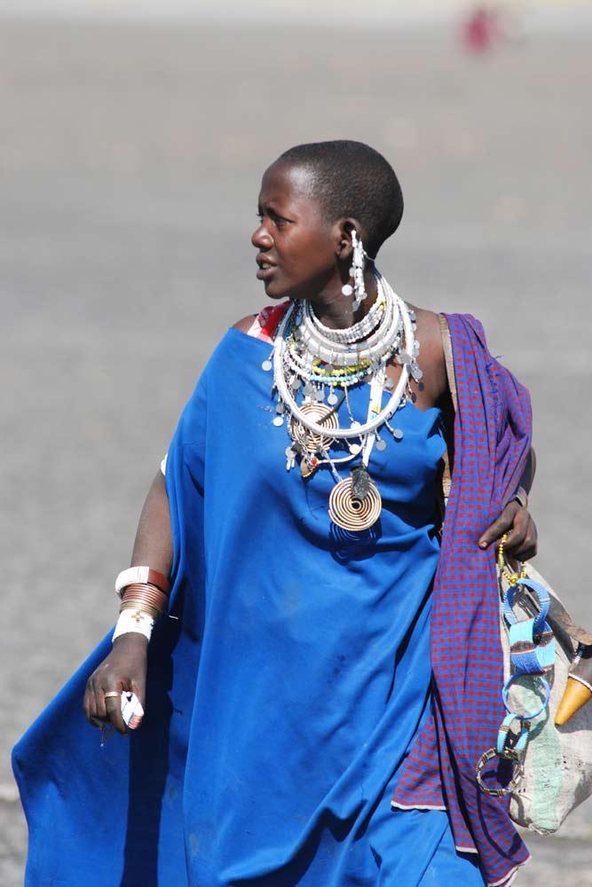 Masai Woman Tanzania